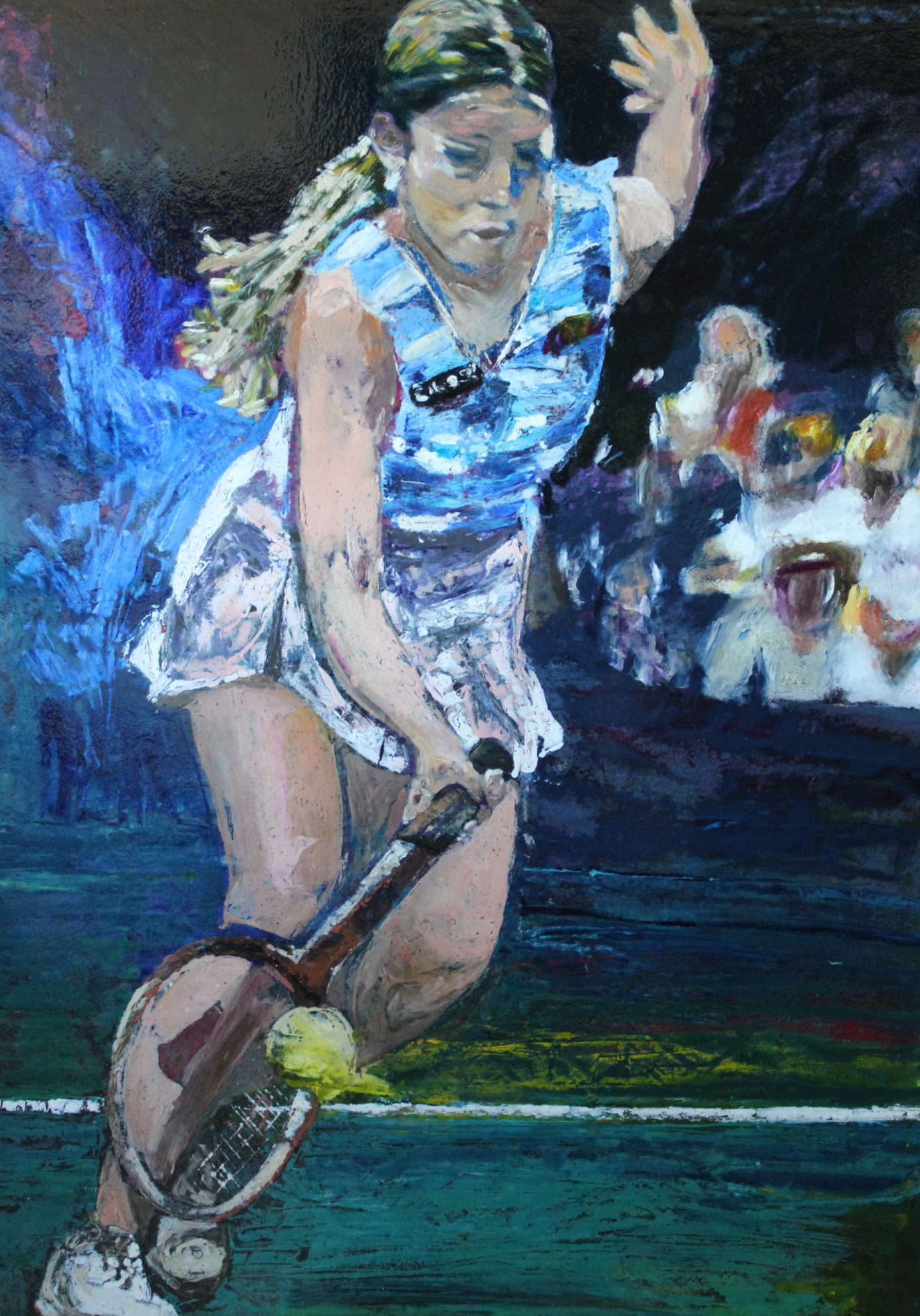 Chrissy Evert, 1982 US Open Champion