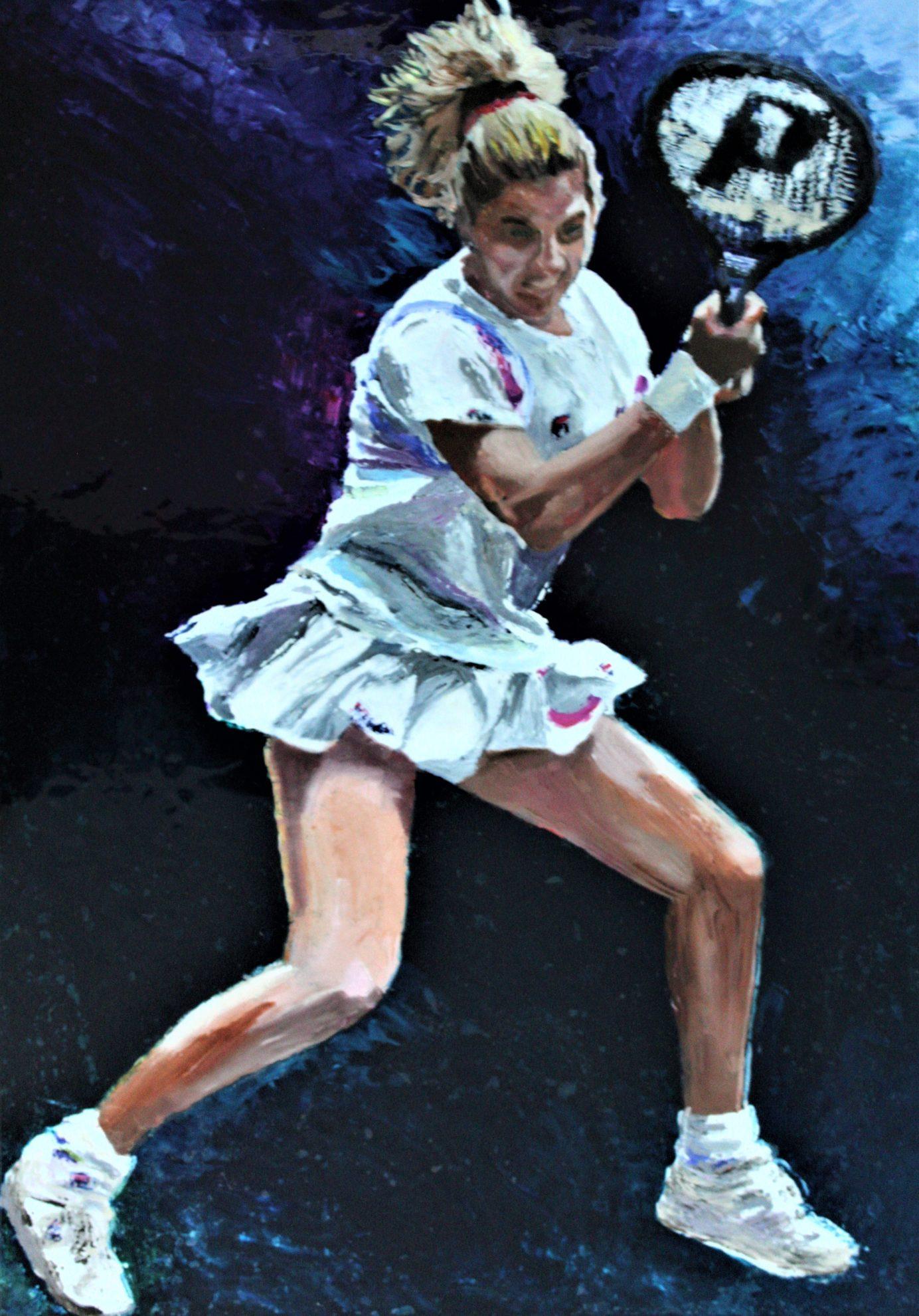 Monica Seles, 1991 US Open Champion