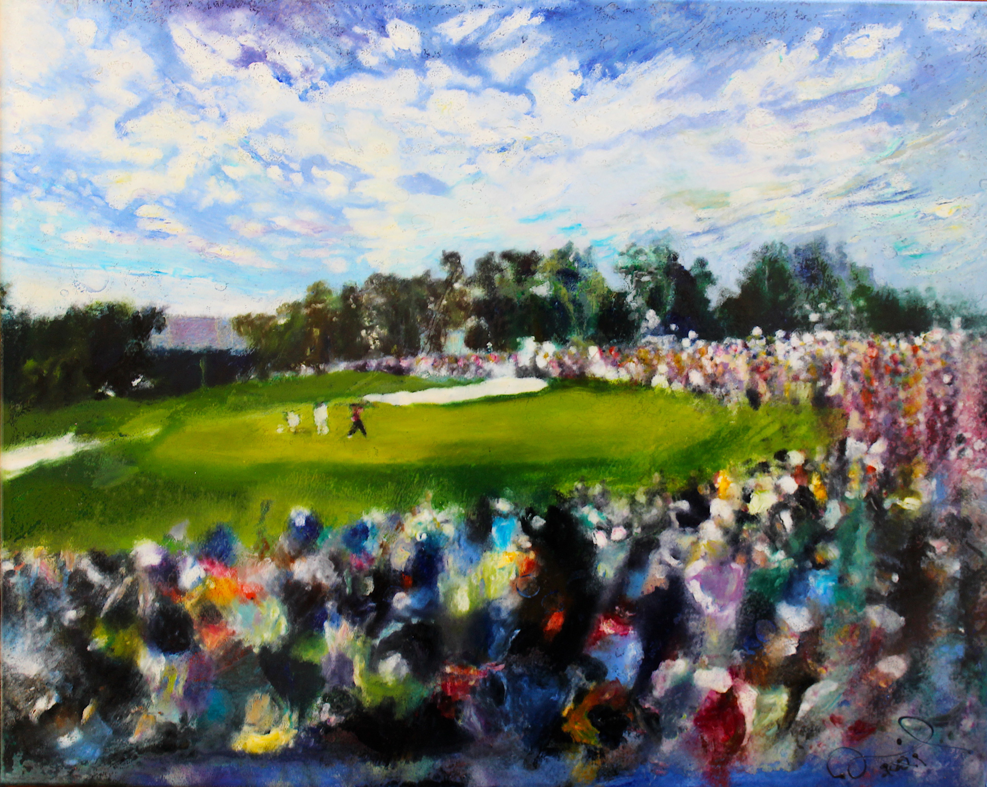 Masters 2019, Tiger Woods Final Hole